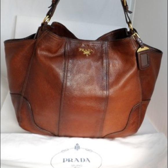 Prada Bags   Side Pocket Br3786 Cacao Brown W Gradient   Poshmark ad1c85a4e1